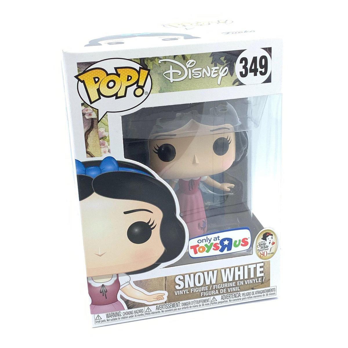 Funko Pop Snow White 349 Exclusiva Toys R Us  - Game Land Brinquedos