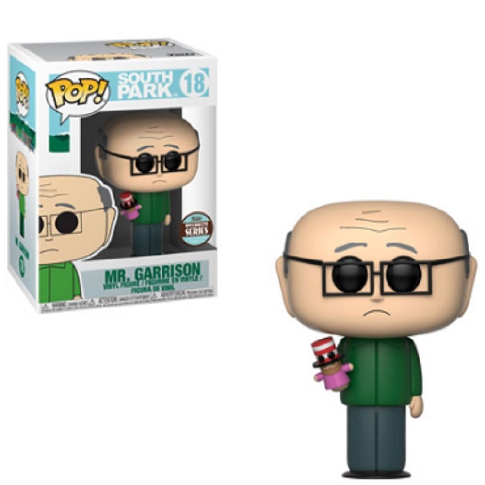 Funko Pop South Park Mr. Garrison Exclusivo Specialty Series - Game Land Brinquedos