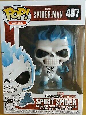 Funko Pop Spirit Spider Gamerverse Spider-Man Exclusivo Walgreens 467  - Game Land Brinquedos