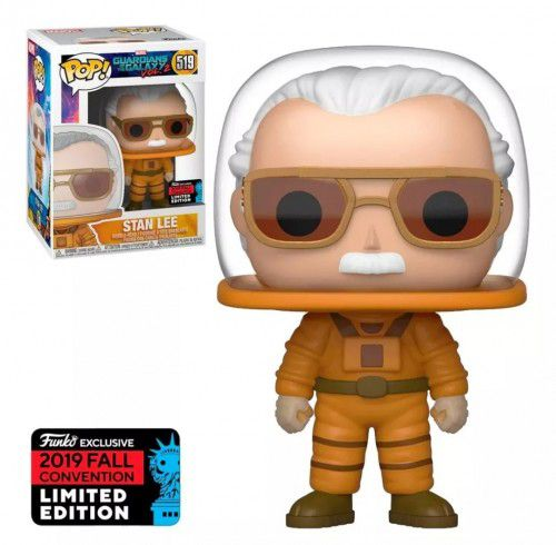 Funko Pop Stan Lee Guardiões da Galáxia Exclusivo NYCC 2019  - Game Land Brinquedos