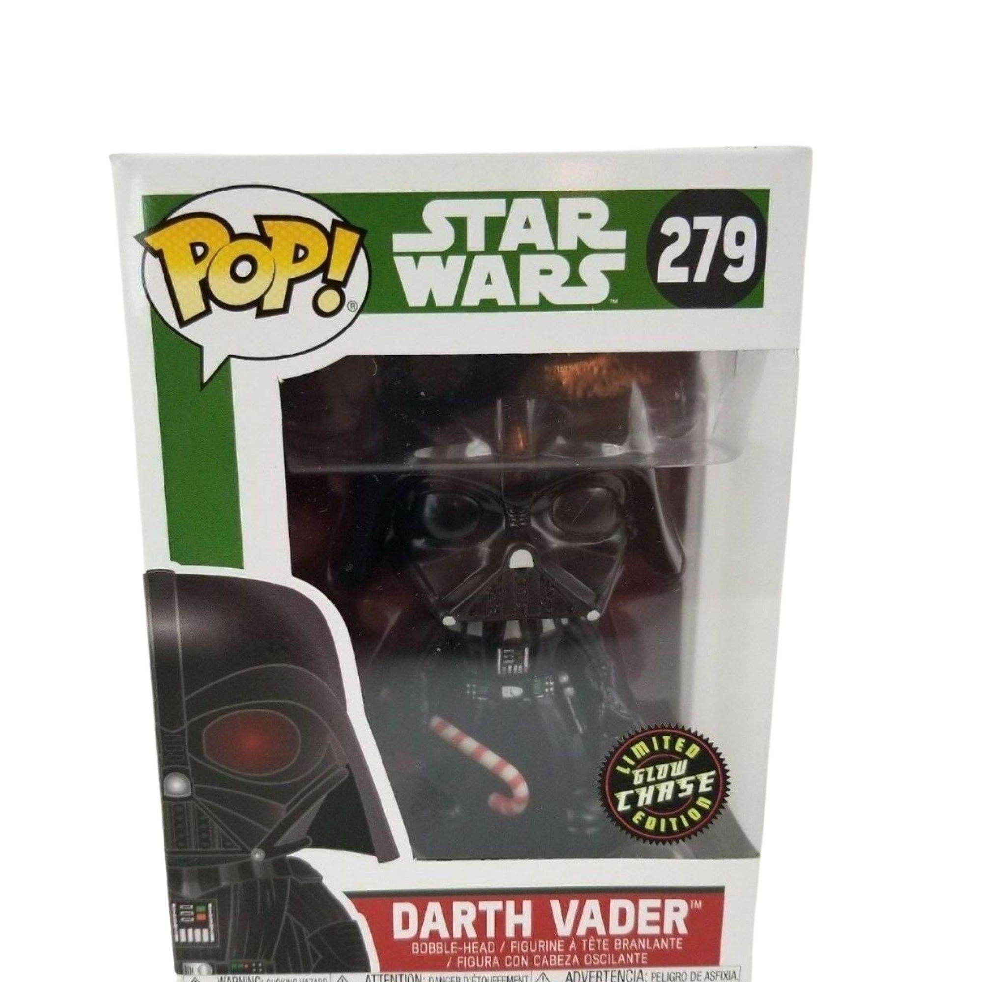 Funko Pop Star Wars Darth Vader Holiday Christmas Chase #279  - Game Land Brinquedos