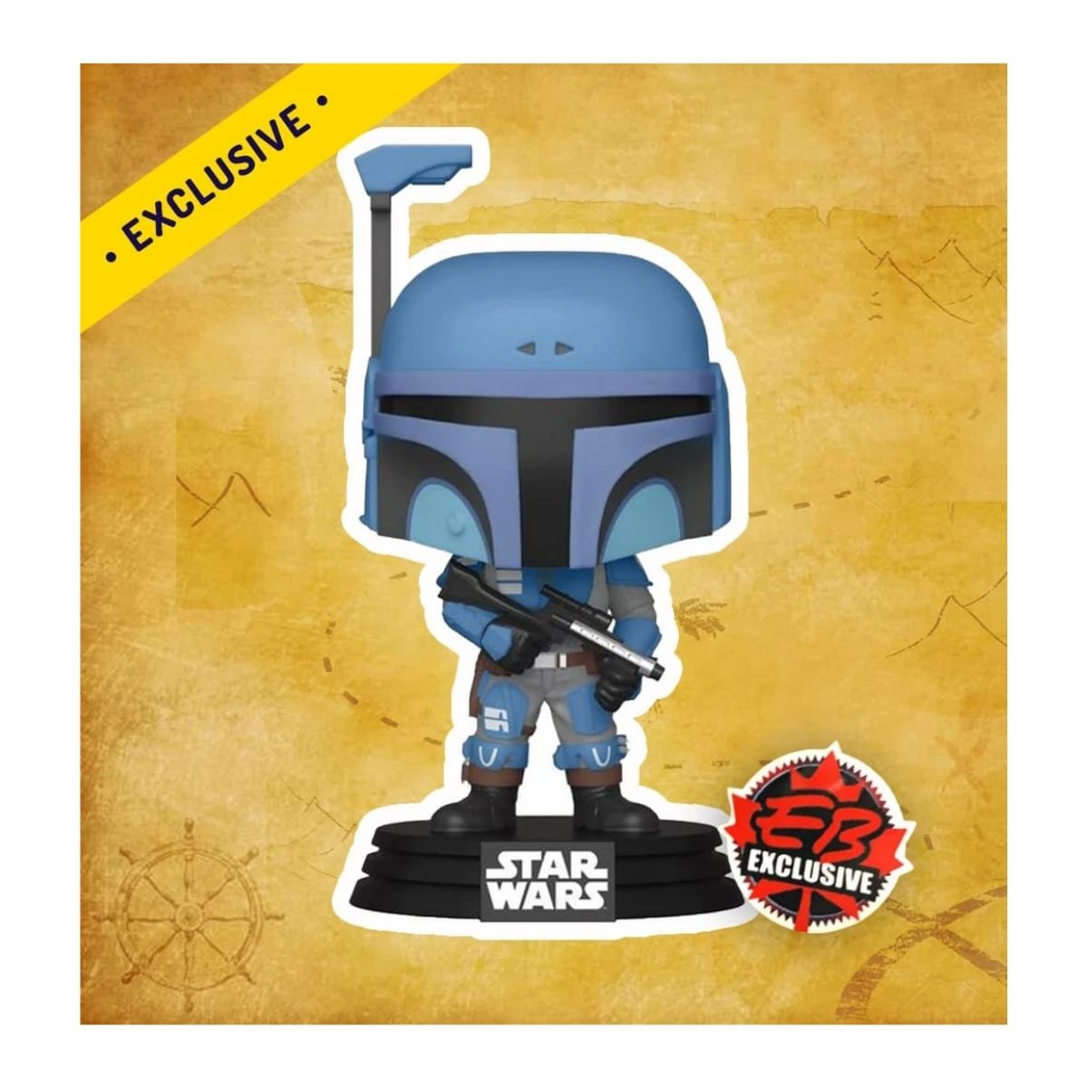 Funko Pop Star Wars Death Watch Mandalorian Exclusivo #354  - Game Land Brinquedos