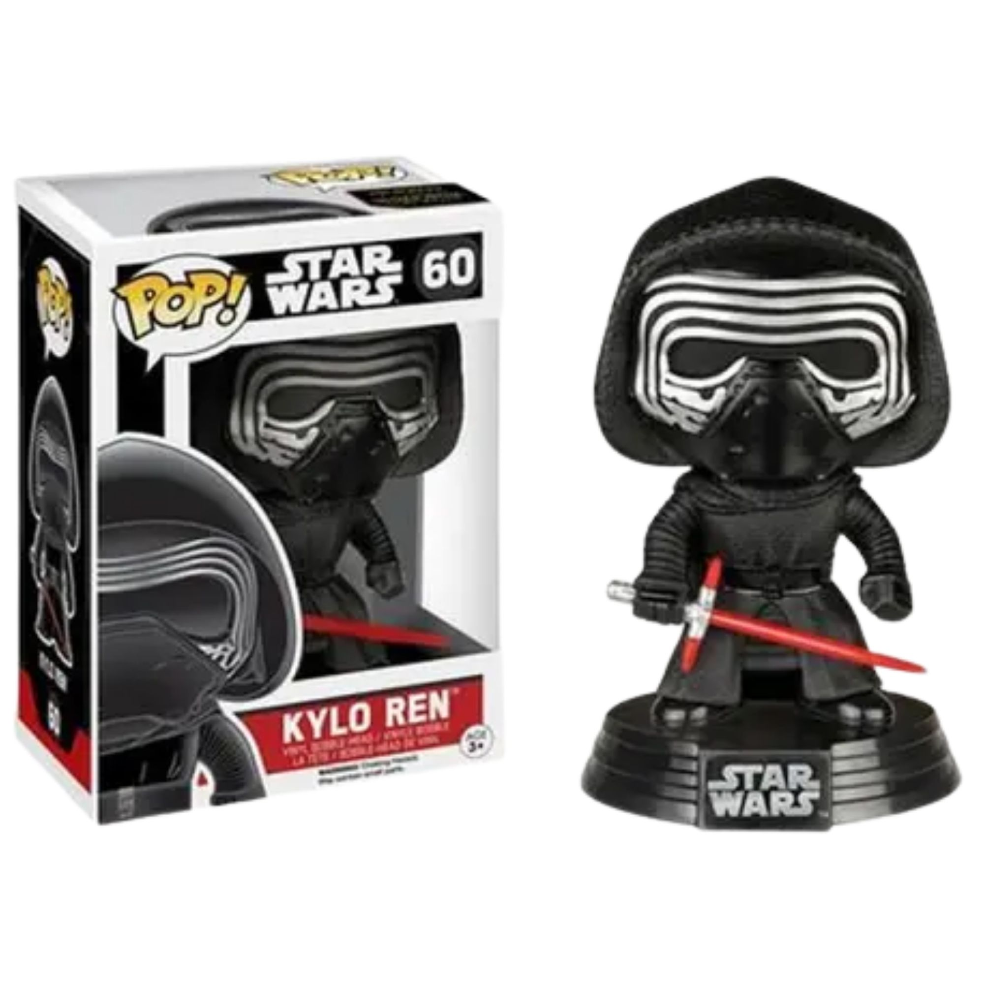 Funko Pop Star Wars Kylo Ren Despertar da Força #60  - Game Land Brinquedos