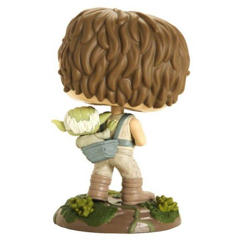 Funko Pop Star Wars Luke Skywalker e Yoda  - Game Land Brinquedos