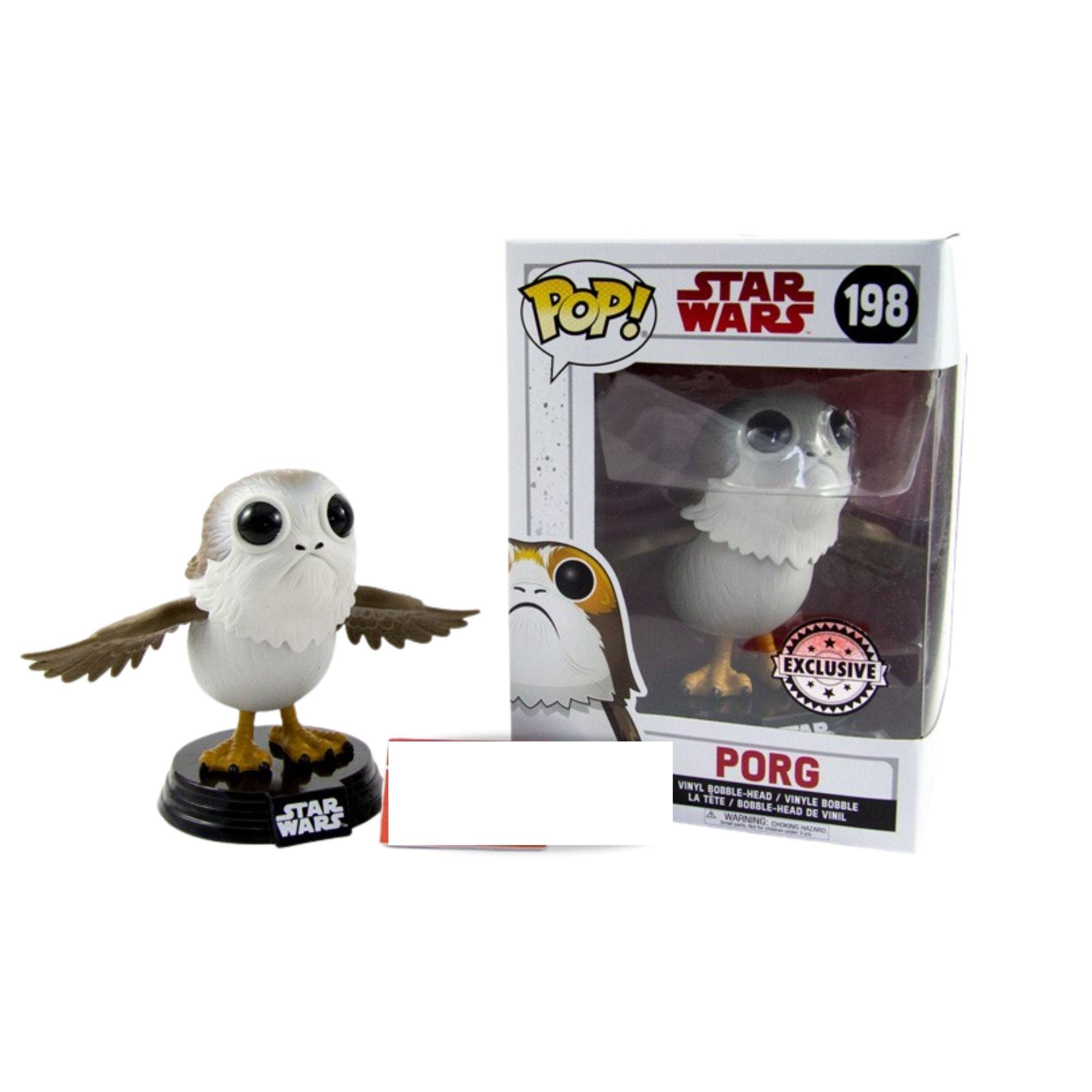 Funko Pop Star Wars Porg Exclusive #198  - Game Land Brinquedos