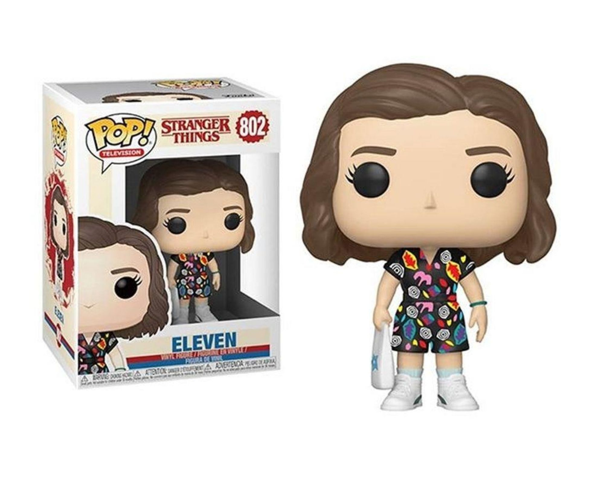 Funko Pop Stranger Things Eleven In Mall Outfit #802  - Game Land Brinquedos