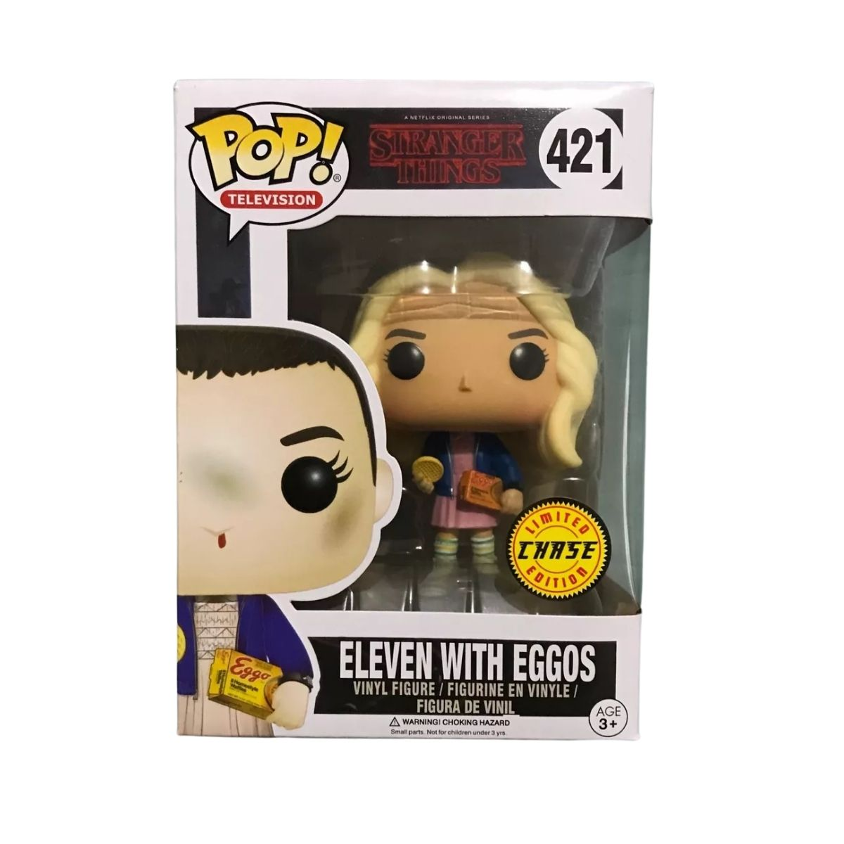 Funko Pop Stranger Things Eleven With Eggos #421 Chase  - Game Land Brinquedos