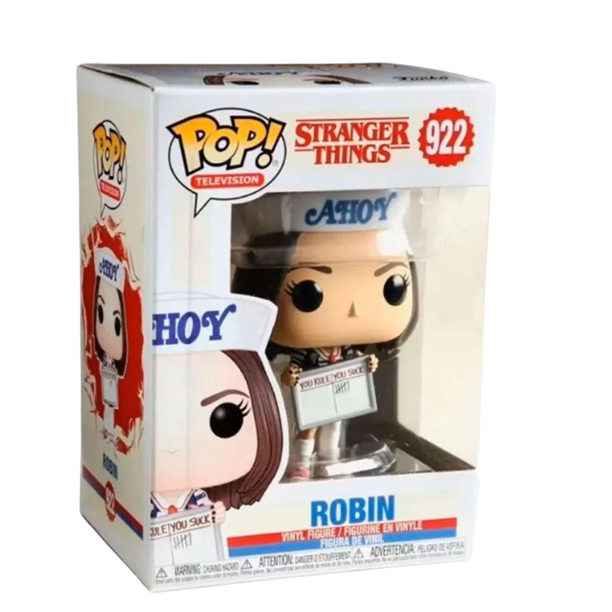 Funko Pop Stranger Things Robin #922  - Game Land Brinquedos