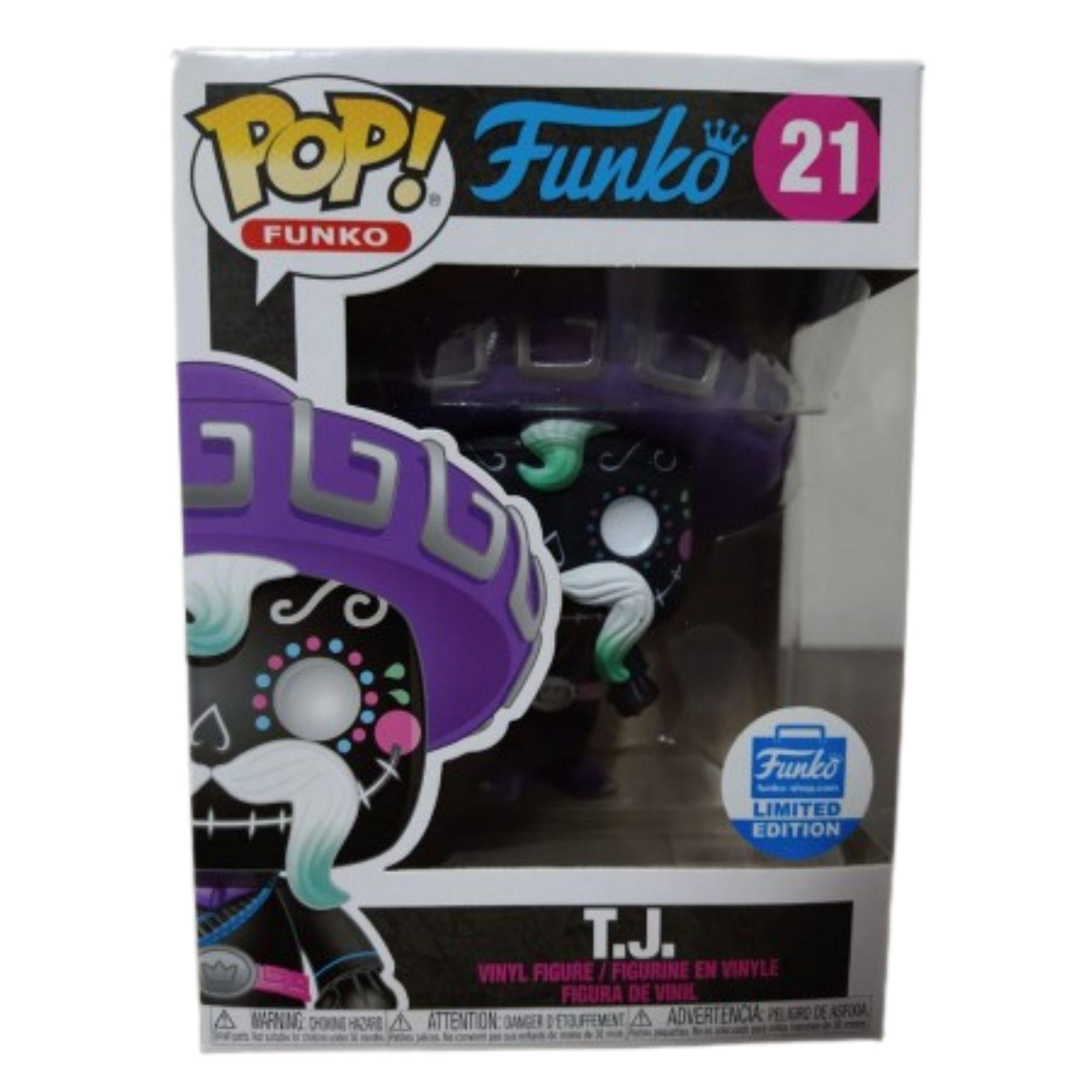 Funko Pop T.J.  Fantastik Plastik #21  - Game Land Brinquedos