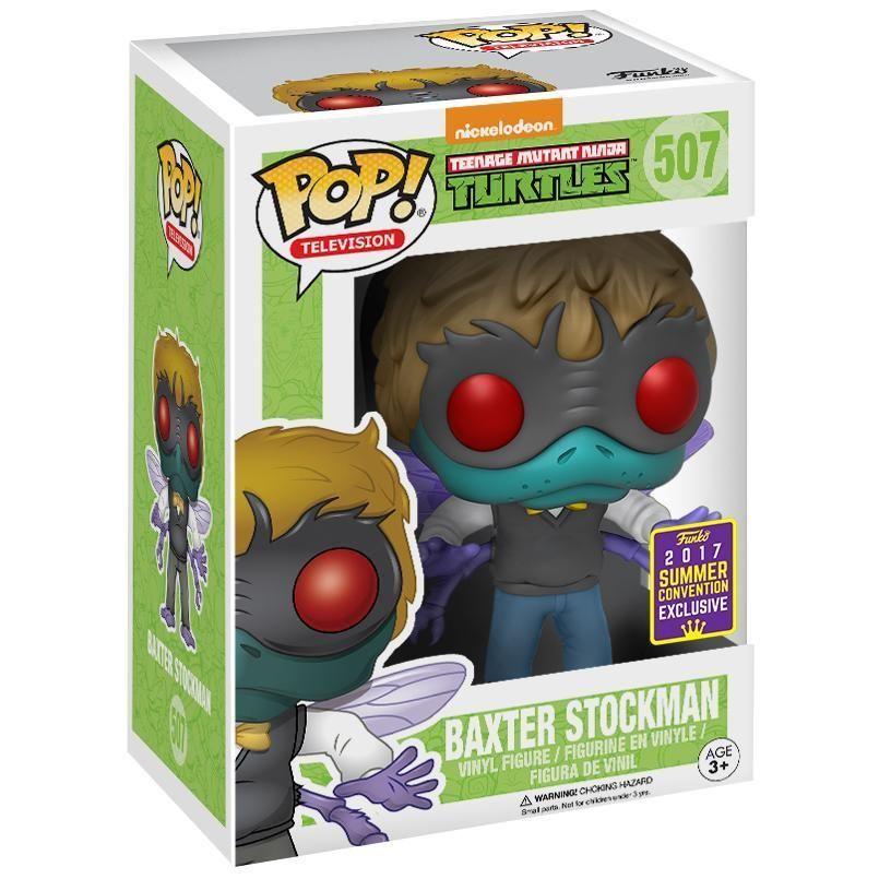 Funko  Pop Tartarugas Ninjas Baxter Stockman Exclusivo   - Game Land Brinquedos