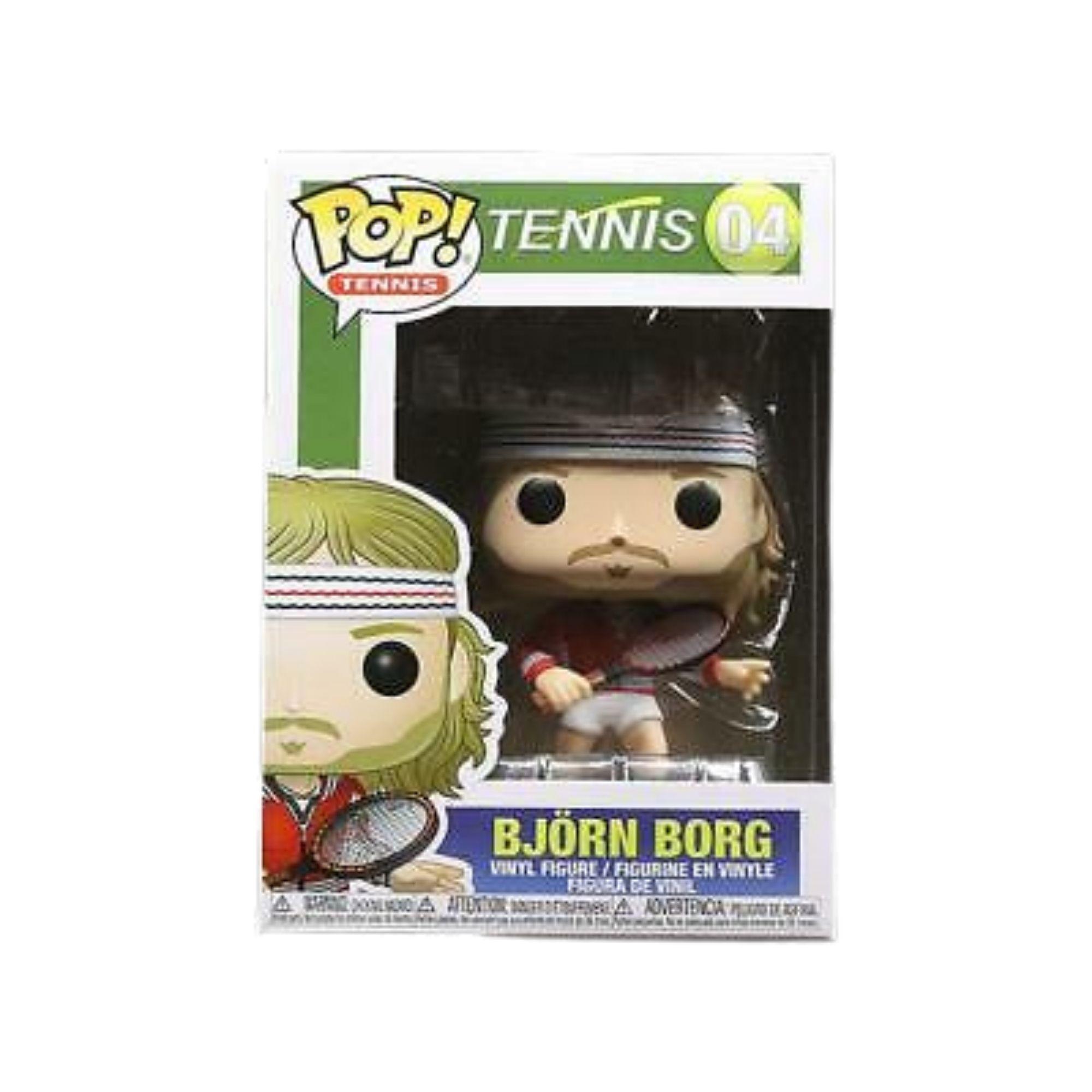 Funko Pop Tennis Bjorn Borg #04  - Game Land Brinquedos