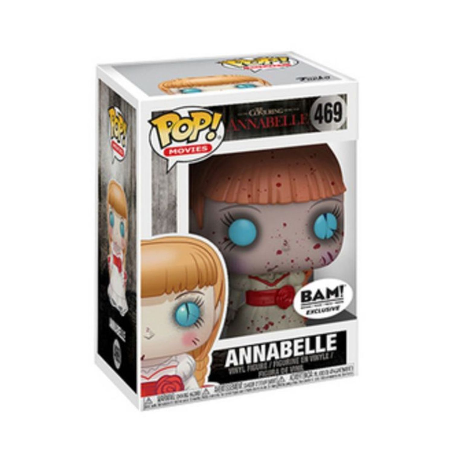 Funko Pop The Conjuring Annabelle #469 BAM Exclusive  - Game Land Brinquedos
