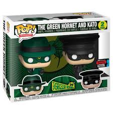Funko Pop The Green Hornet Exclusivo NYCC 2019 Green Hornet And Kato  - Game Land Brinquedos