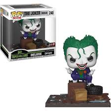 Funko Pop The Joker (Hush) DC Coleção Jim Lee De Luxe Exclusivo Gamestop  - Game Land Brinquedos