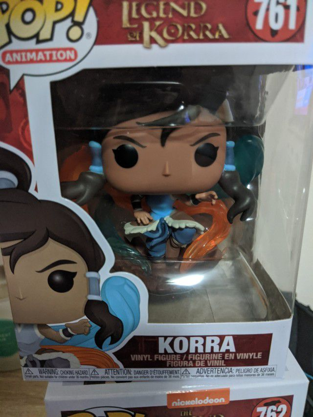 Funko Pop The Legend Of Korra   - Game Land Brinquedos