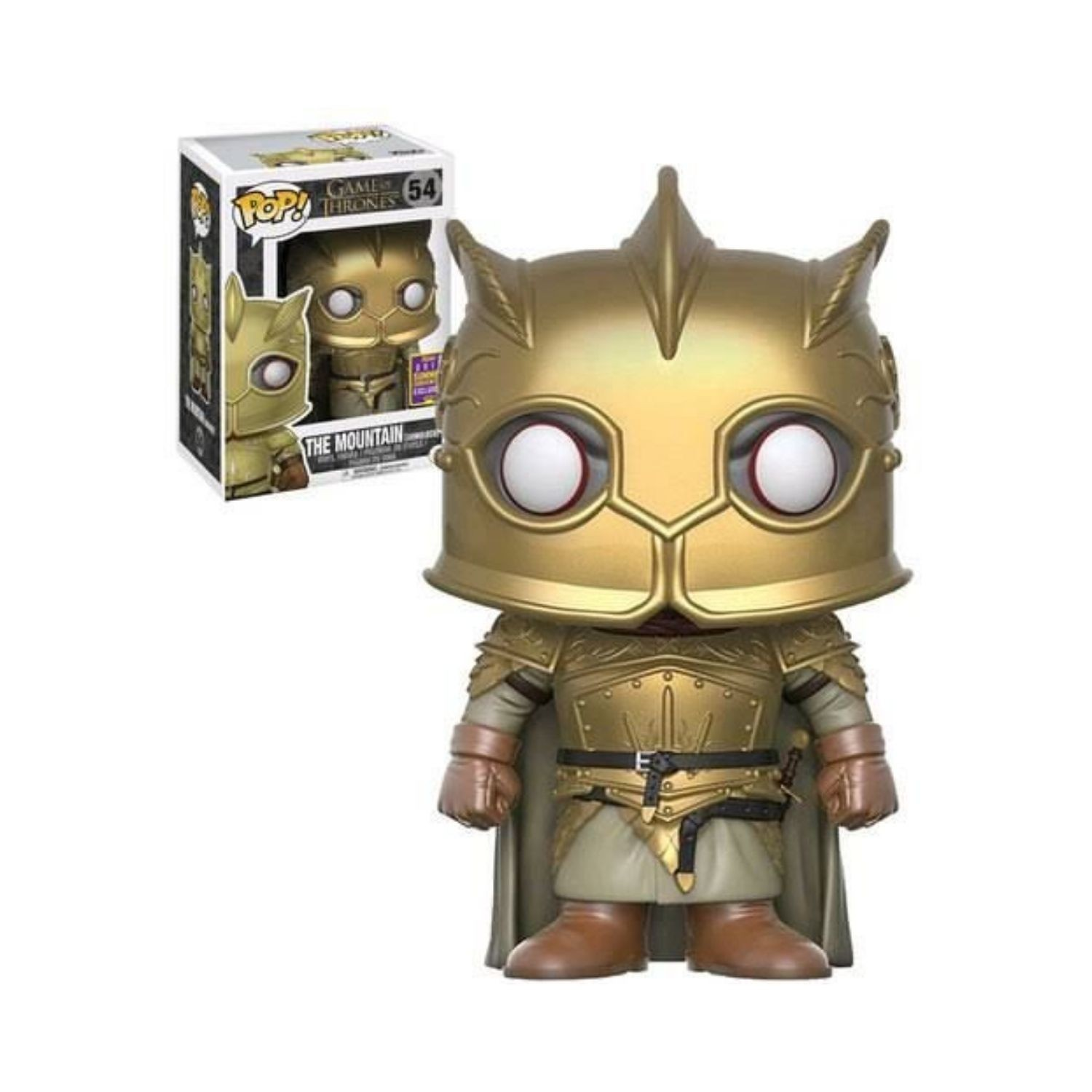 Funko Pop The Mountain (armoured) - Game Of Thrones #54  - Game Land Brinquedos