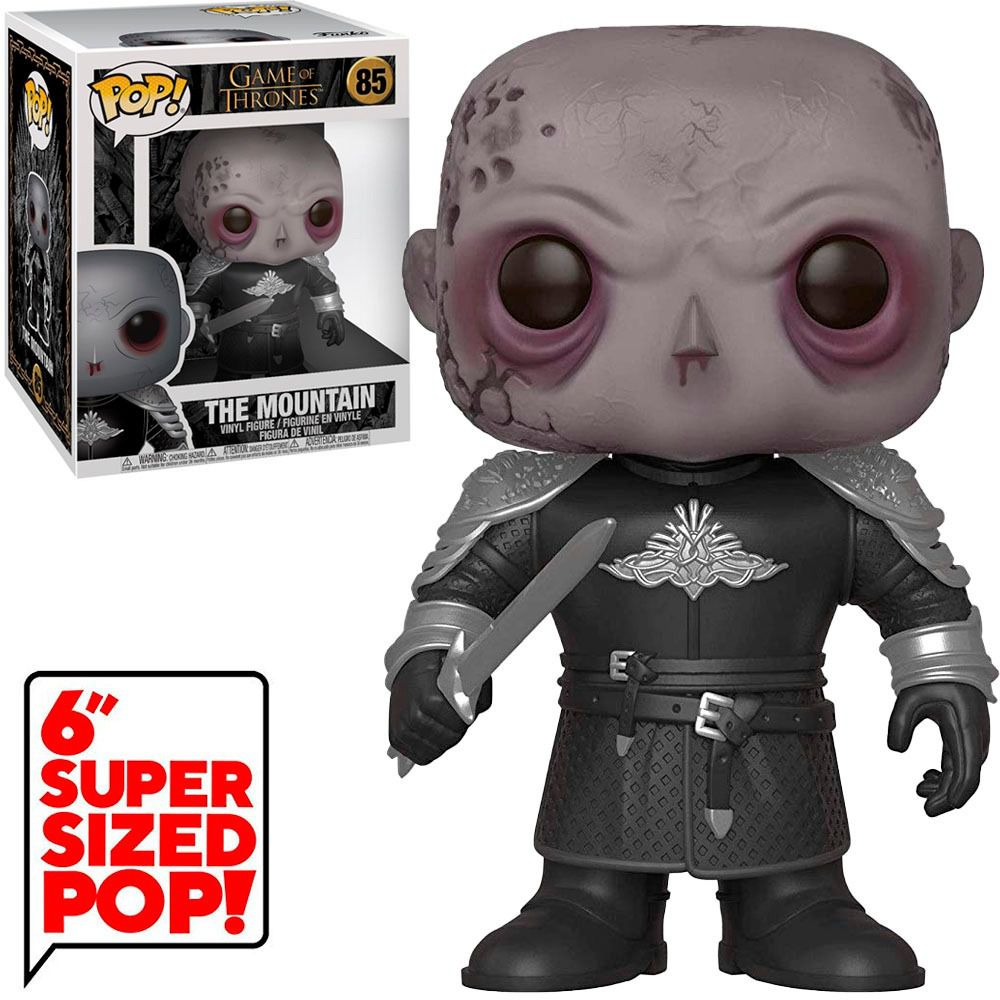 Funko Pop The Mountain Game of Thrones #85  - Game Land Brinquedos