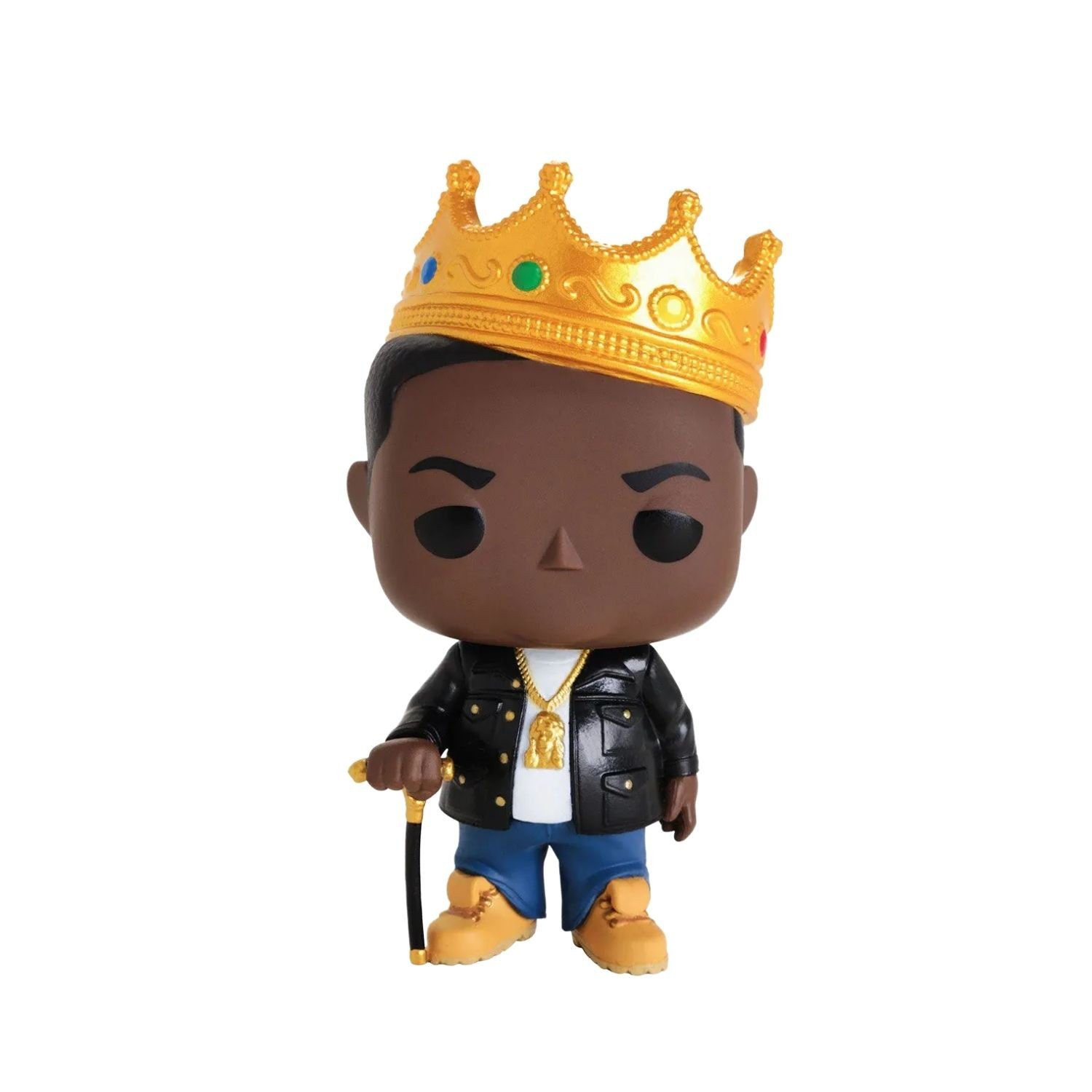 Funko Pop The Notorious B.I.G com Coroa #77  - Game Land Brinquedos