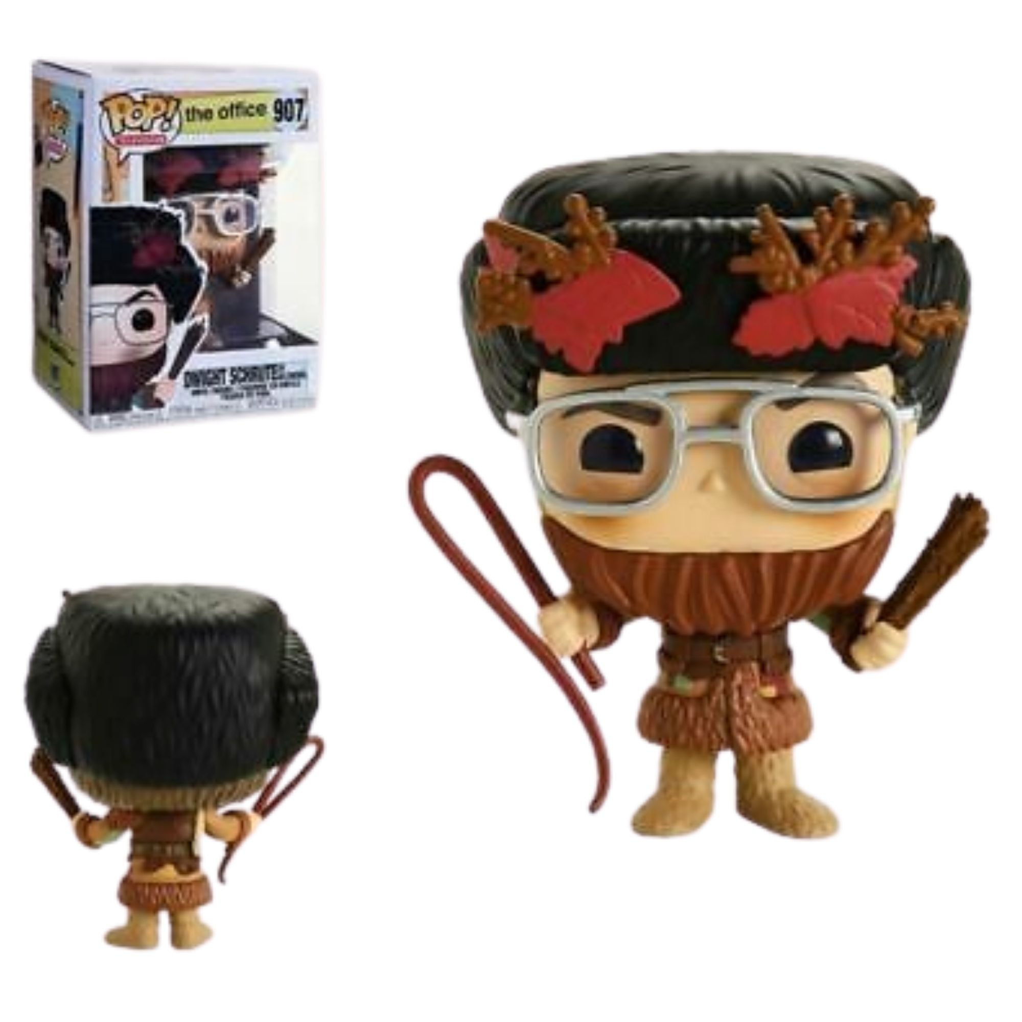 Funko Pop The Office Dwight Schrute As Belsnickel #907  - Game Land Brinquedos