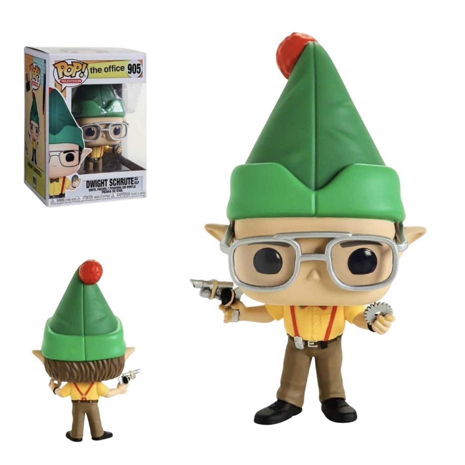Funko Pop! The Office: Dwight Schrute As Elf #905  - Game Land Brinquedos