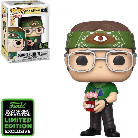 Funko Pop The Office Dwight Schrute As Recyclops ECCC 938  - Game Land Brinquedos