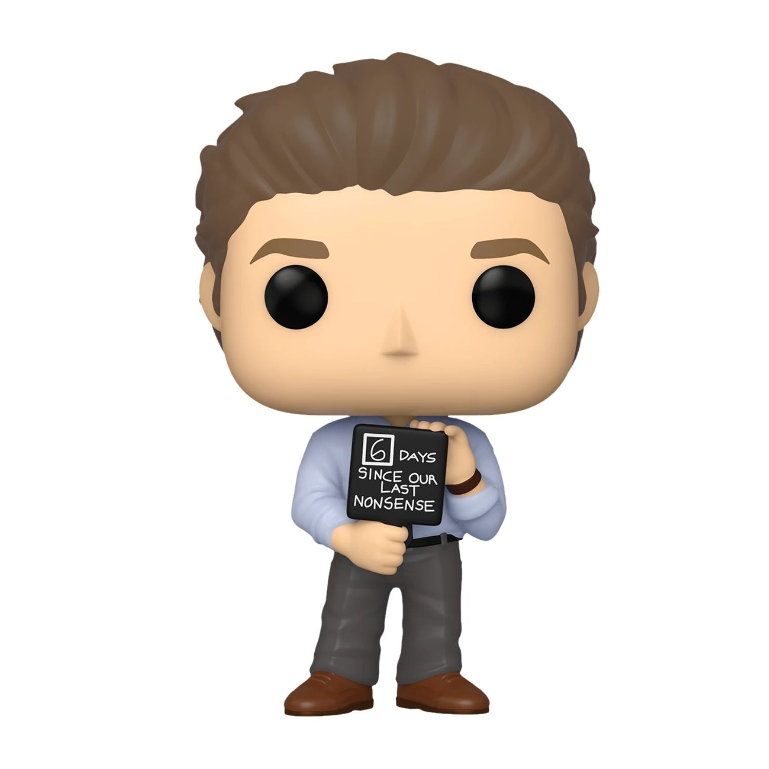 Funko Pop The Office Jim With Nonsense Sign #1046  - Game Land Brinquedos