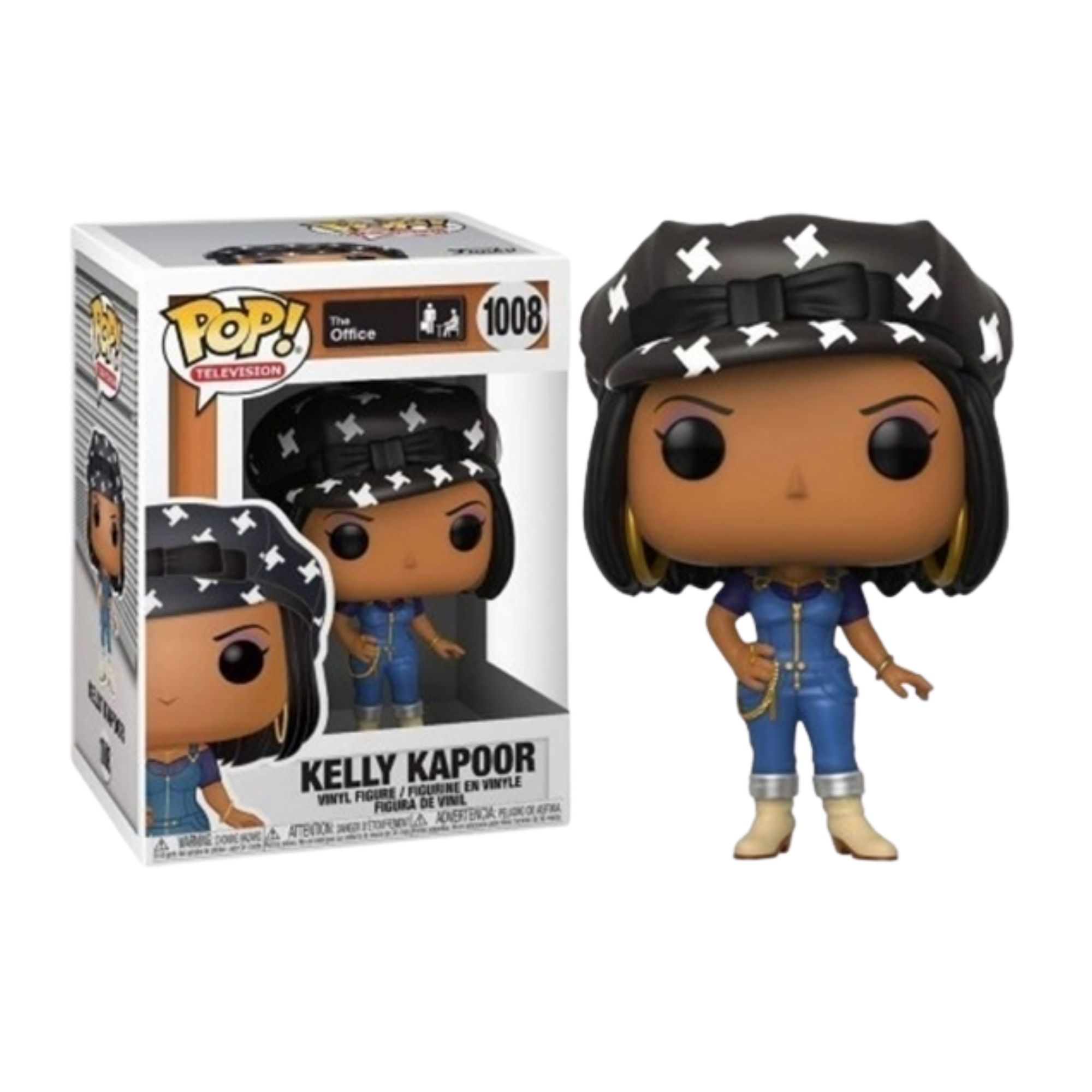 Funko  Pop The Office Kelly Kapoor #1008  - Game Land Brinquedos