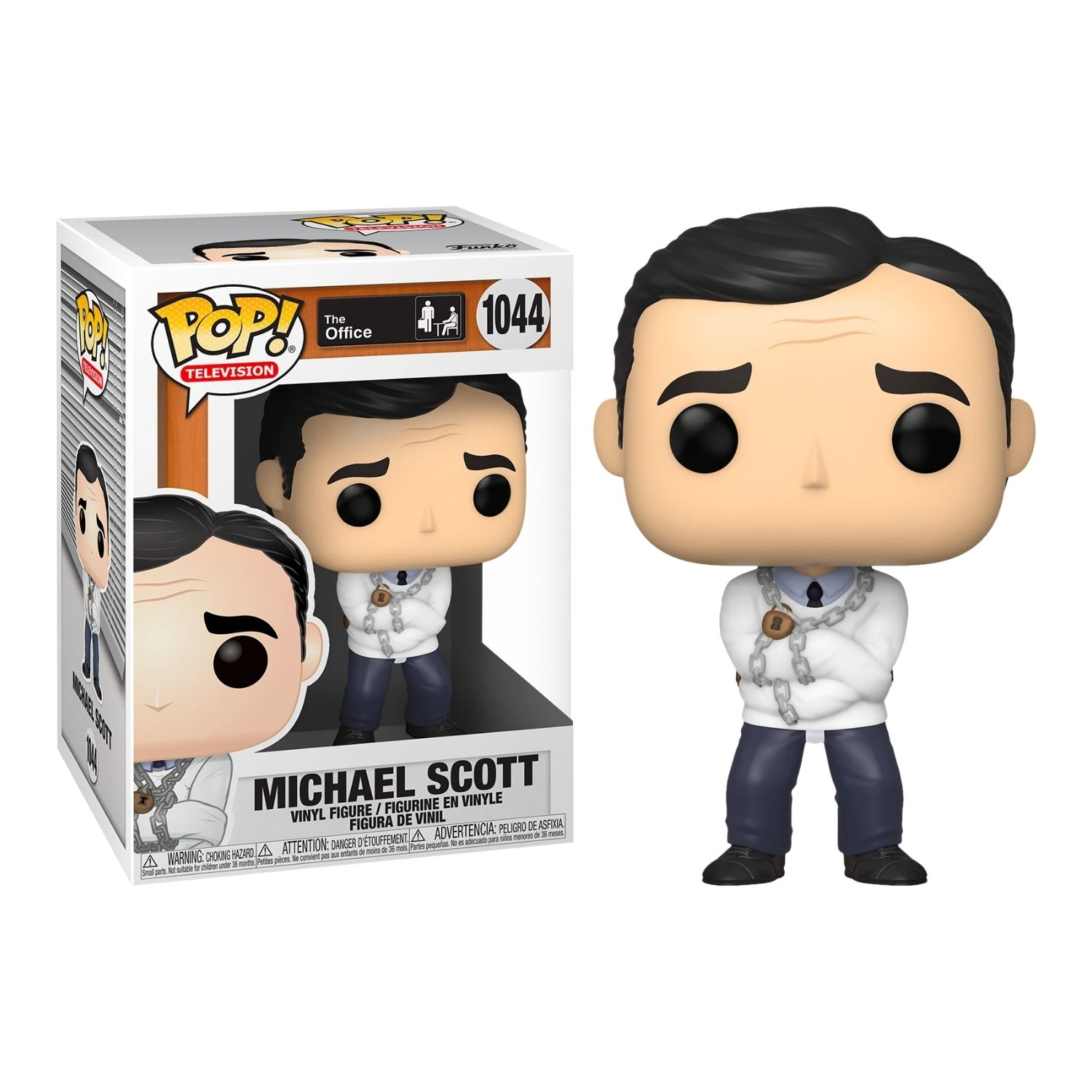 Funko Pop The Office Michael Scott #1044  - Game Land Brinquedos