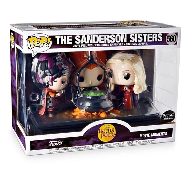 Funko Pop The Sanderson Sisters movie moments  Hocus Pocus Abracadabra  - Game Land Brinquedos
