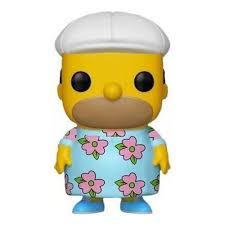 Funko Pop The Simpsons Homer MuuMuu Exclusivo Hot Topic  - Game Land Brinquedos