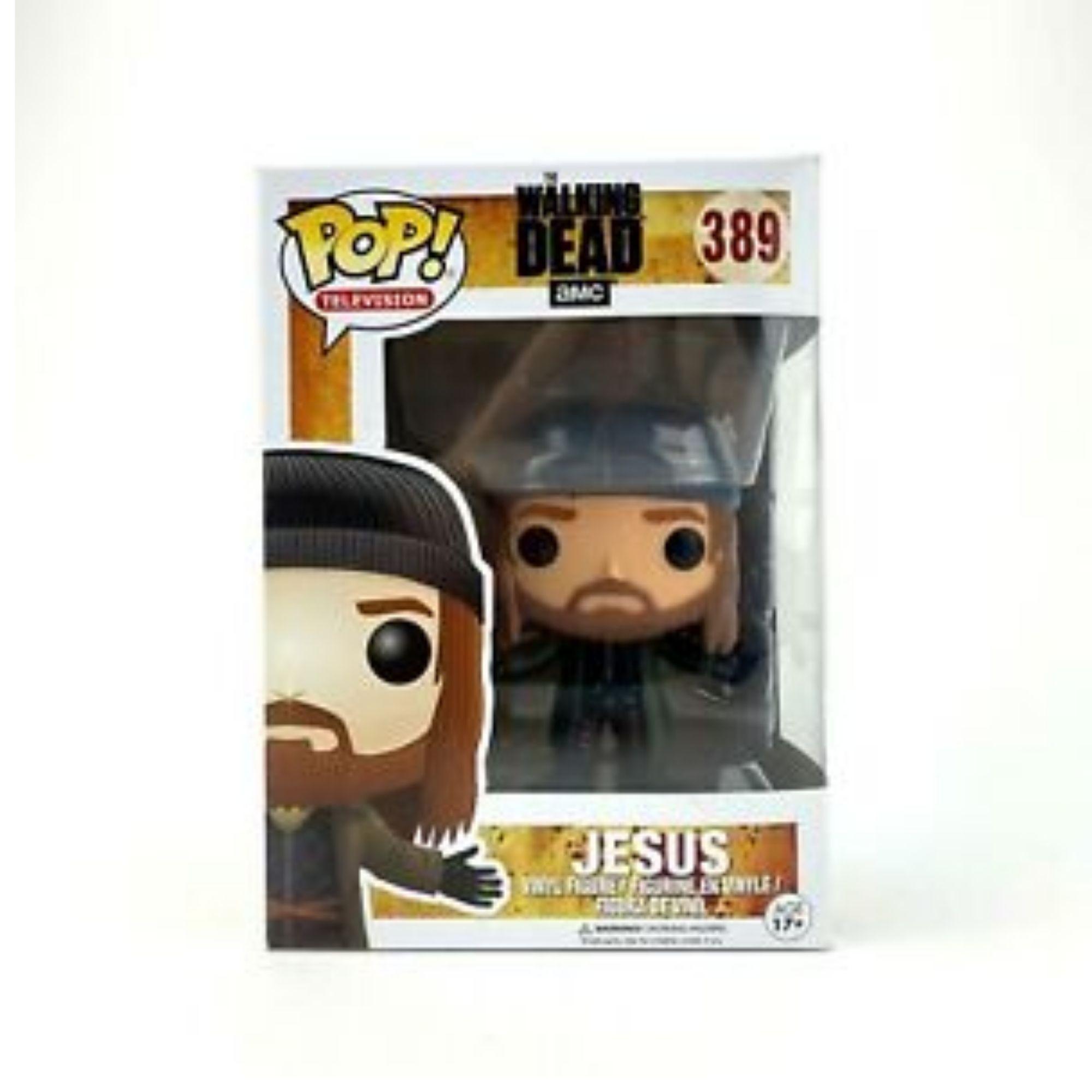 Funko Pop The Walking Dead Jesus #389  - Game Land Brinquedos