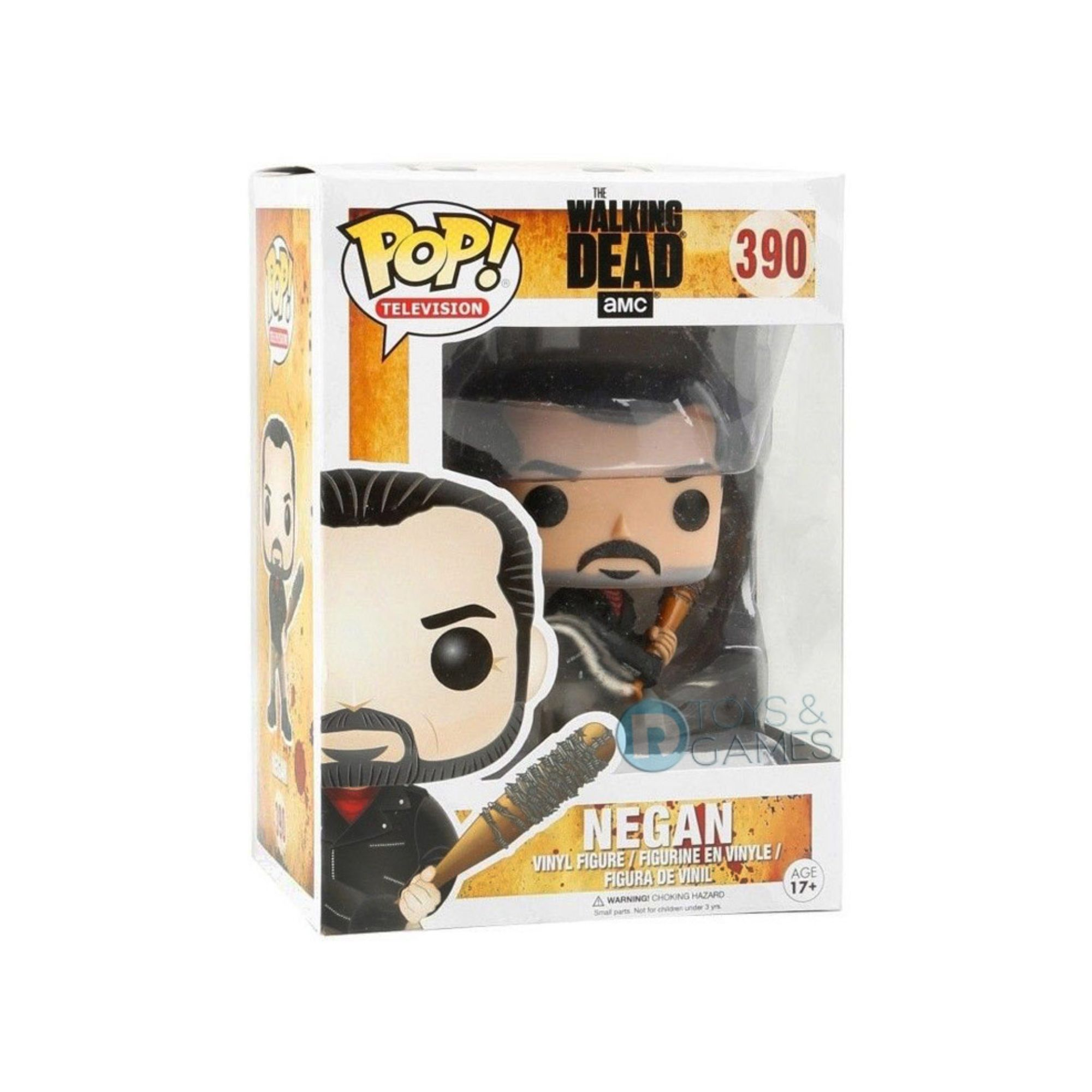 Funko Pop The Walking Dead Negan #390  - Game Land Brinquedos