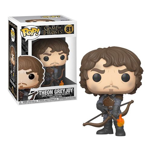 Funko Pop Theon Greyjoy Game of Thrones  - Game Land Brinquedos