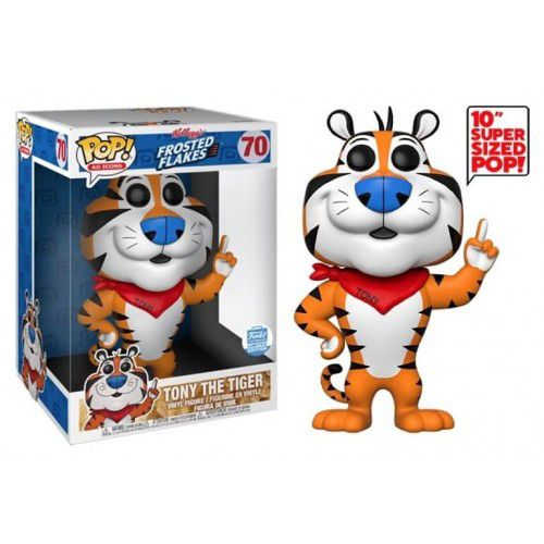 Funko Pop Tony The Tiger Kelloggs Limitado 10 polegadas  - Game Land Brinquedos