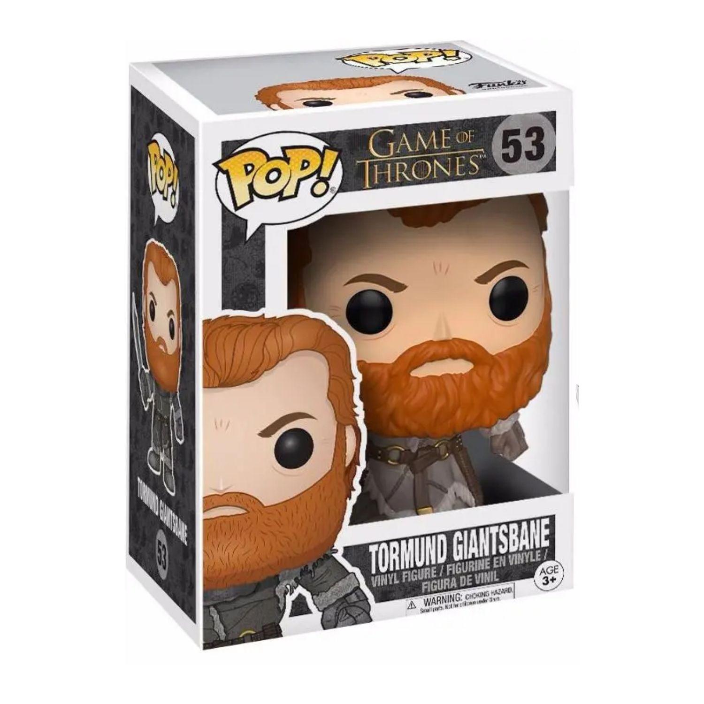 Funko Pop Tormund Giantsbane Game Of Thrones #53  - Game Land Brinquedos