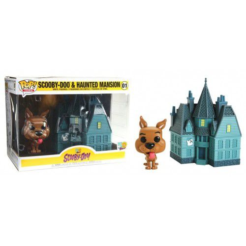 Funko Pop Town Scooby-Doo e Mansão Assombrada - Haunted Mansion  - Game Land Brinquedos