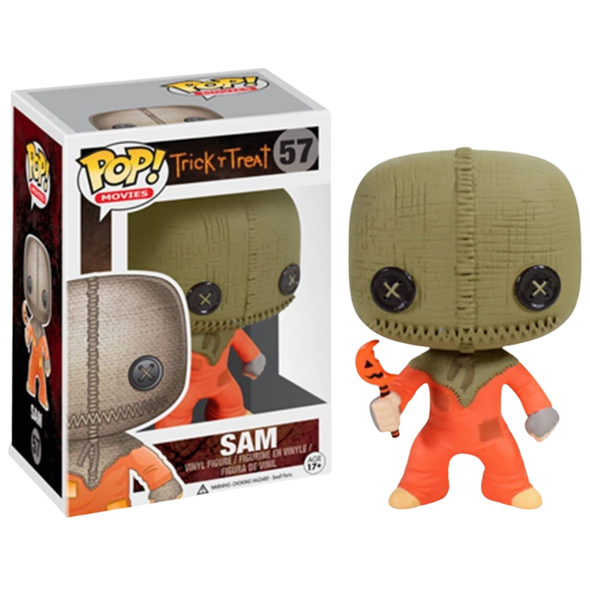 Funko Pop Trick r Treat Sam #57  - Game Land Brinquedos