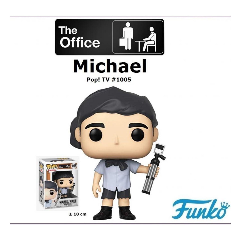 Funko Pop Tv: The Office - Michael Scott As Survivor #1005  - Game Land Brinquedos