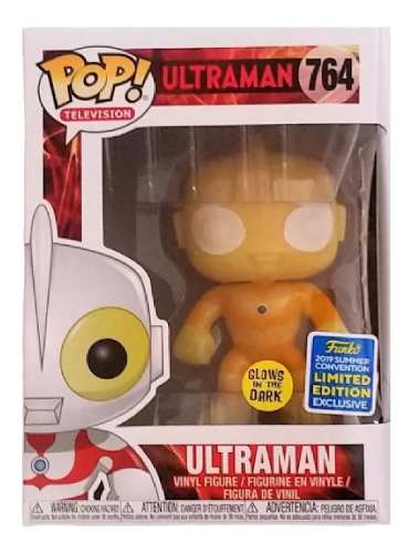 Funko pop Ultraman Toy Tokyo San Diego 2019 Gitd Exclusivo  - Game Land Brinquedos