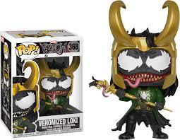 Funko Pop Venomized Loki - Marvel Limitado e Exclusivo  - Game Land Brinquedos