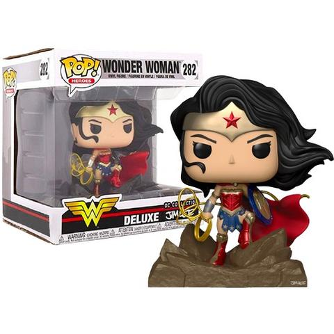 Funko Pop Wonder Woman Dc Coleção Jim Lee De Luxe Gamestop  - Game Land Brinquedos