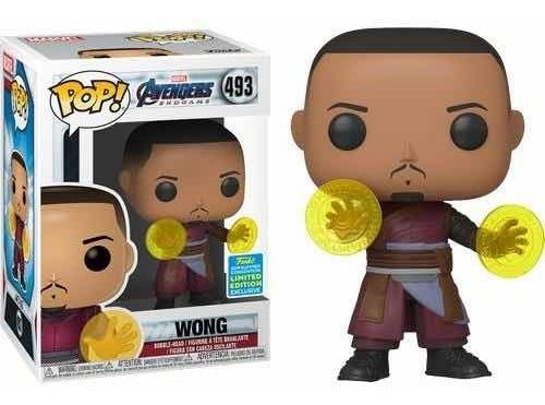 Funko Pop Wong Avengers Endgame NYCC Exclusivo  - Game Land Brinquedos