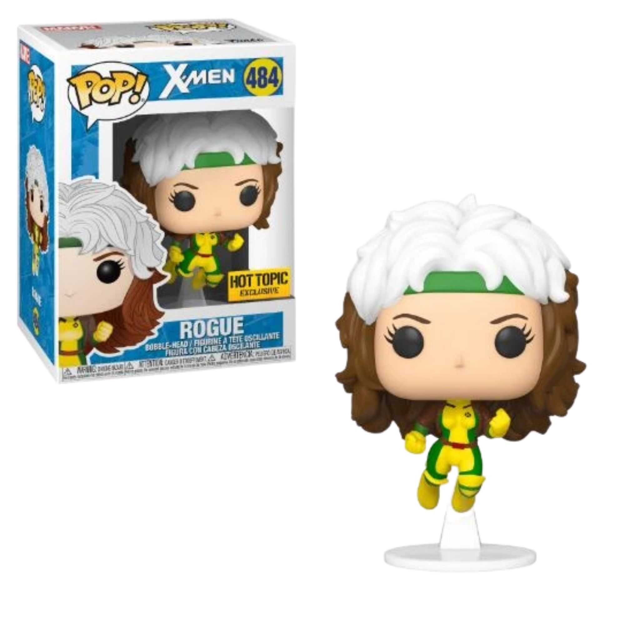 Funko Pop X-Men Rogue Hot Topic #484  - Game Land Brinquedos