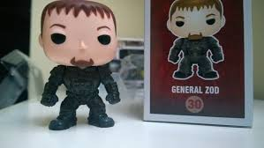 Funko Pop Zod General - Super Man - DC   - Game Land Brinquedos