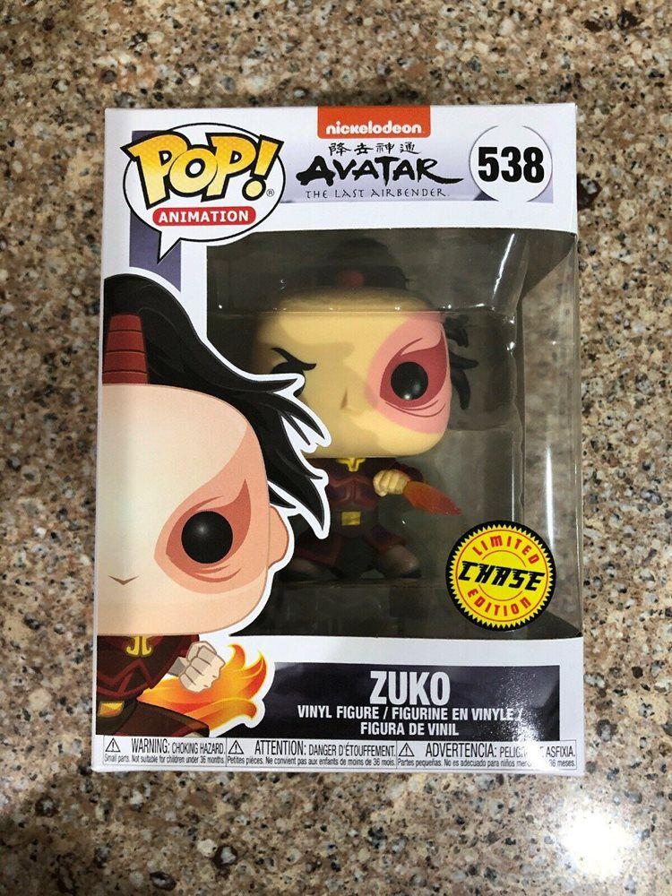 Funko Pop Zuko Avatar Edição Limitada Chase   - Game Land Brinquedos