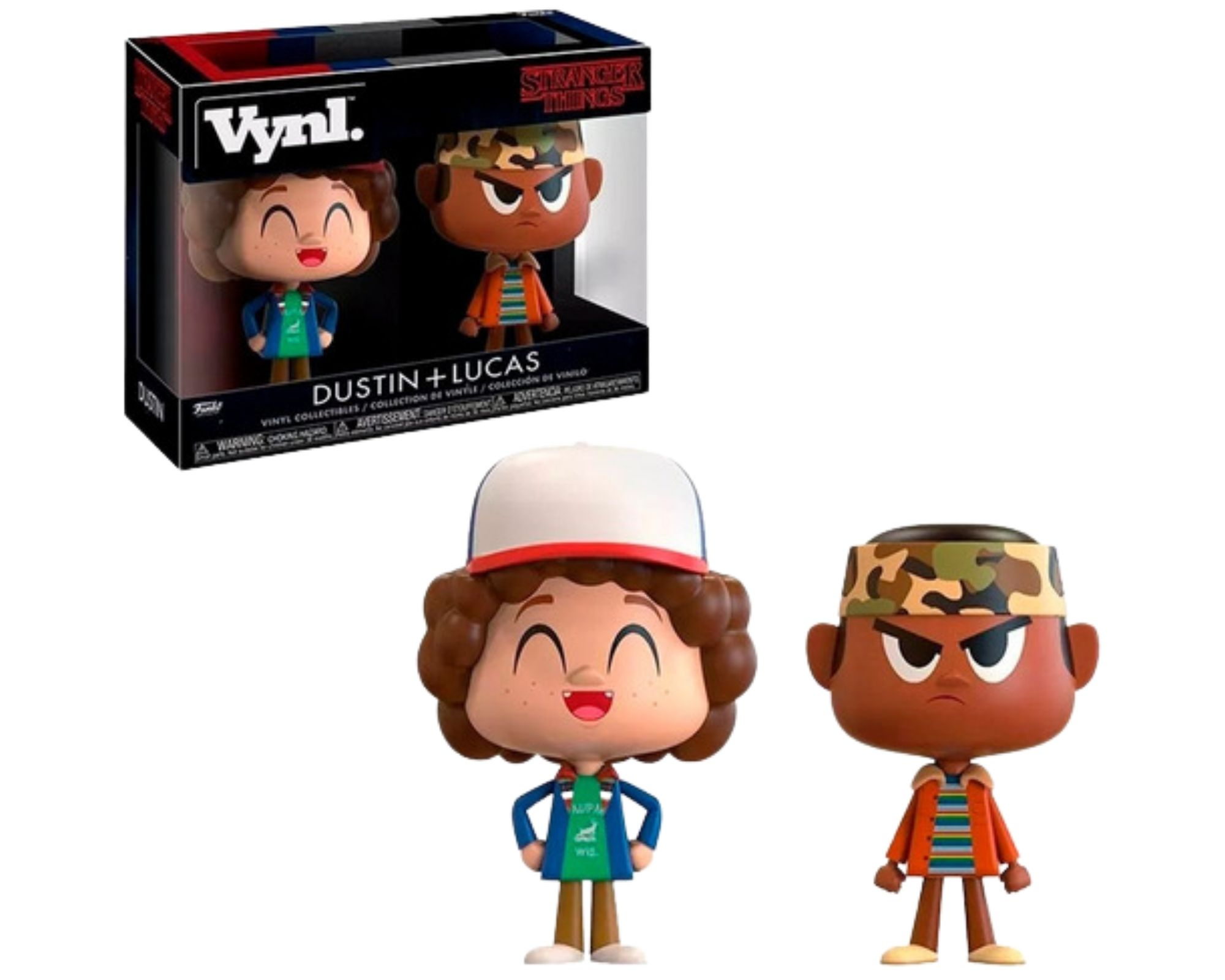 Funko Vynl Stranger Things Dustin + Lucas   - Game Land Brinquedos