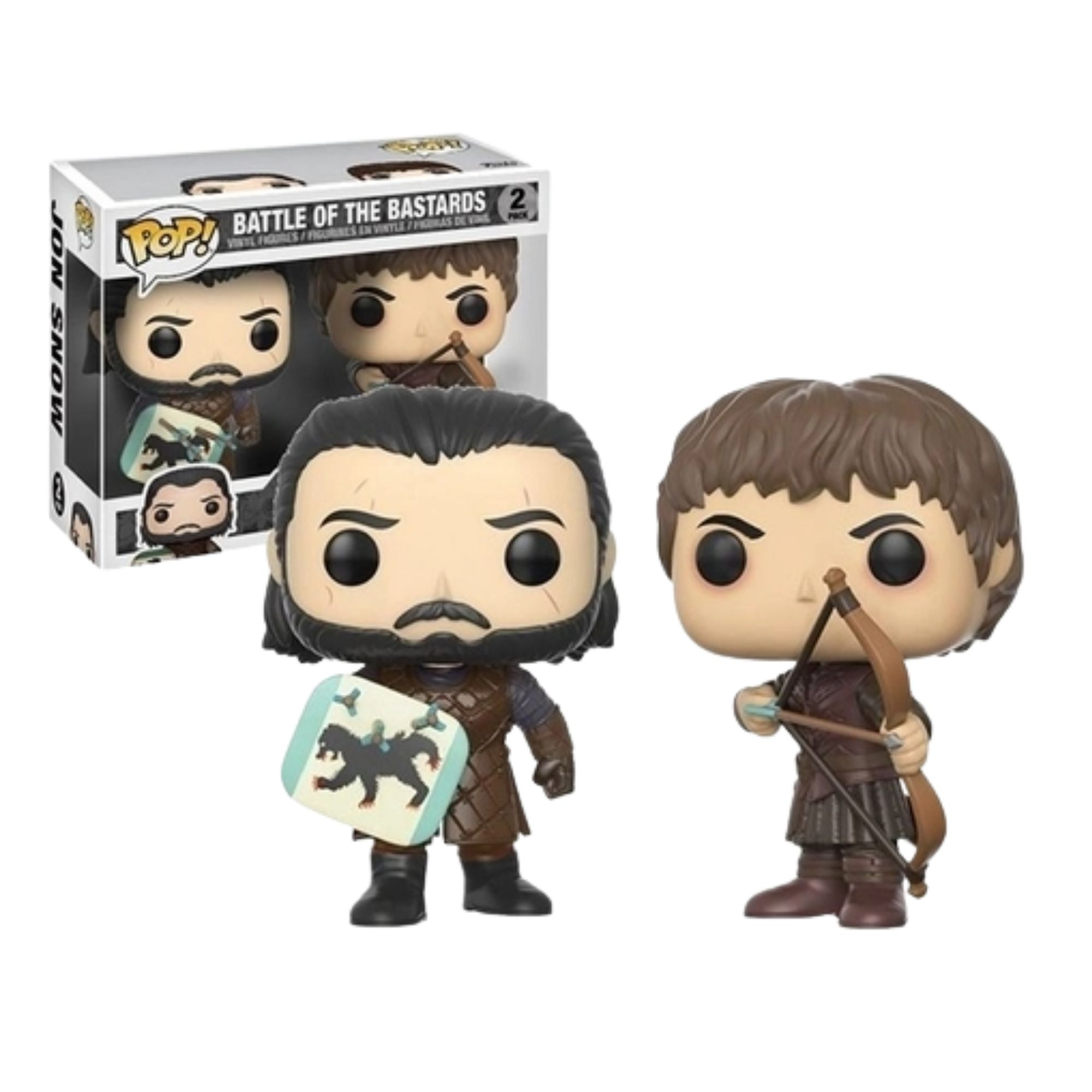 Game Of Thrones Battle Of The Bastards Pack   - Game Land Brinquedos