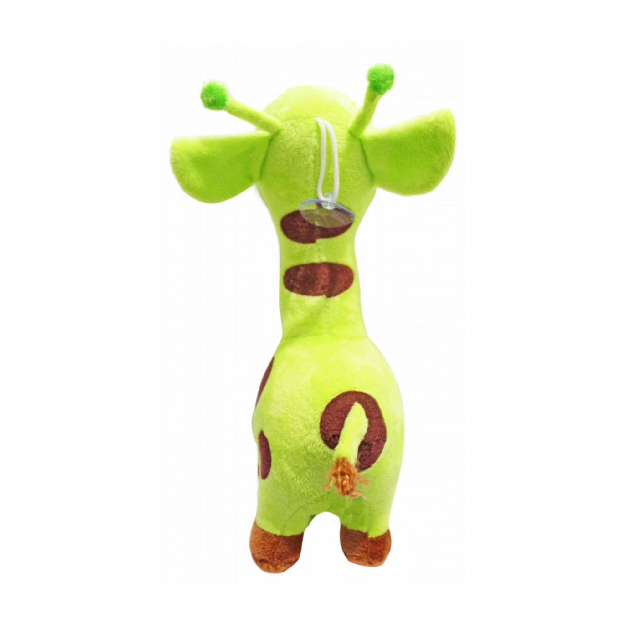 Girafa de Pelucia Fofa Antialergica Colorida  - Game Land Brinquedos