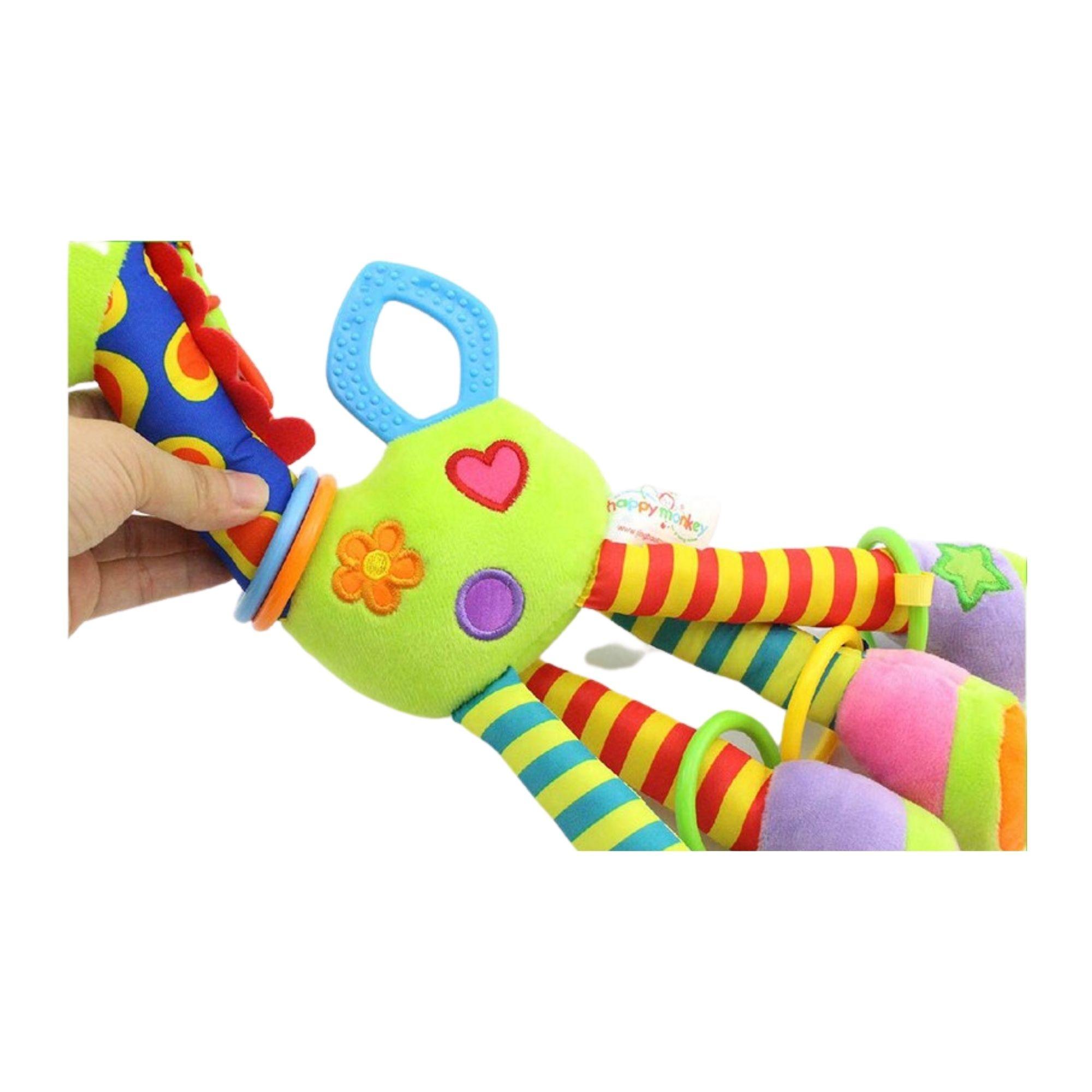 Girafa Mordedor de Pelucia Móbile Brinquedo para bebê  - Game Land Brinquedos