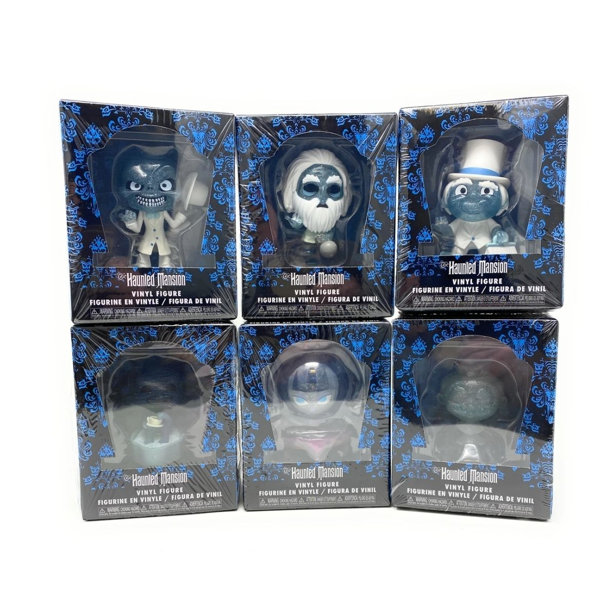 Haunted Mansion Funko Mini Mystery com 6 personagens   - Game Land Brinquedos